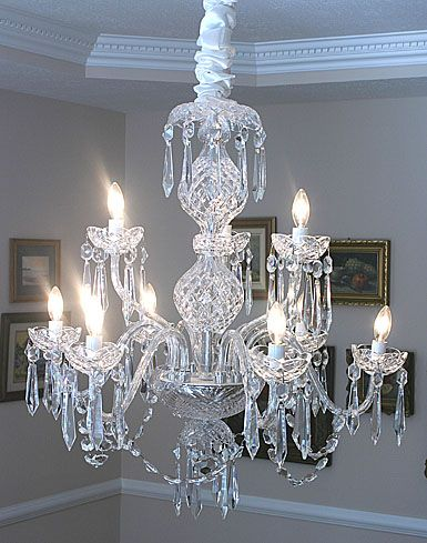 Waterford Crystal Cranmore B9 Crystal Chandelier 9 Arm