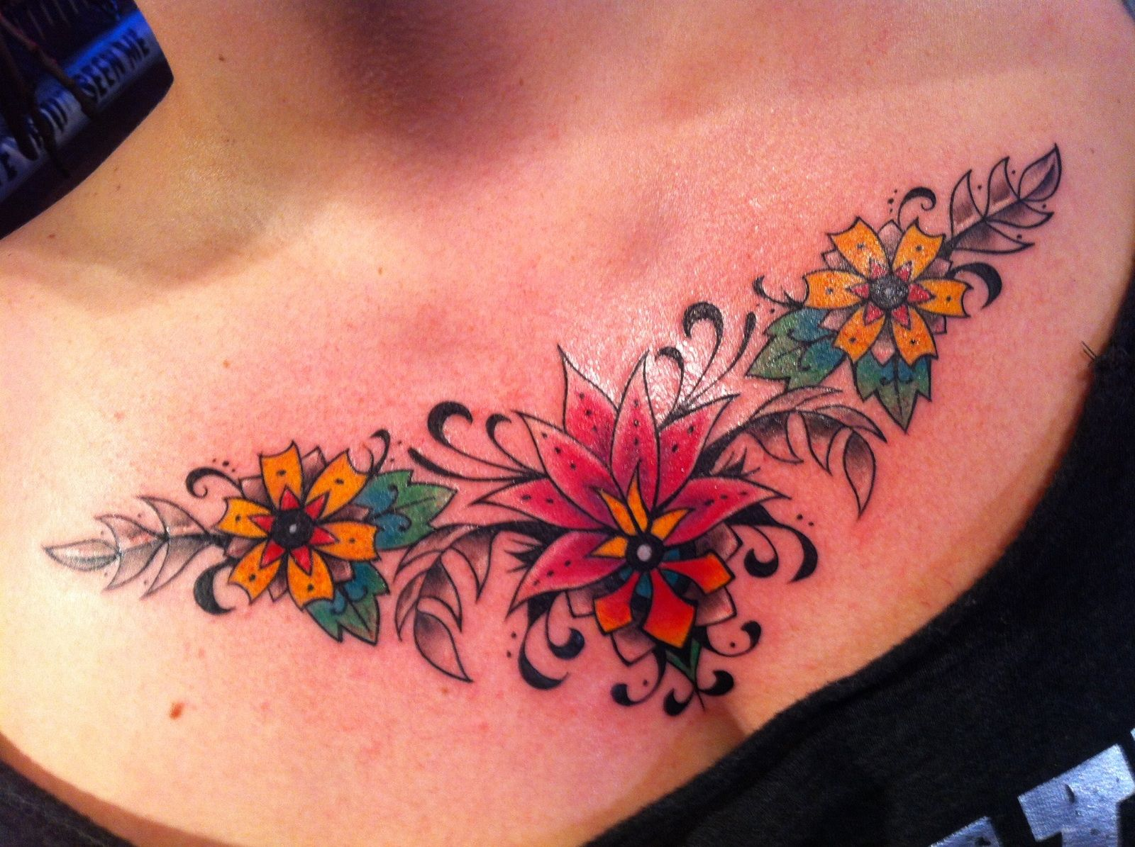 70 Brilliant Chest Tattoos: My Latest Work By The Brilliant Thomas Primm At Barking