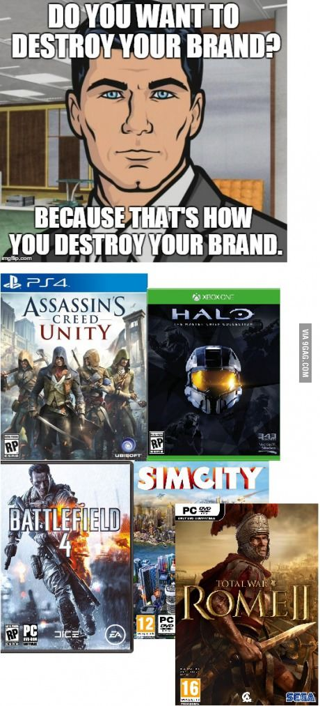To all of the Game devs and publishers lately who are pushing unfinished products to market.