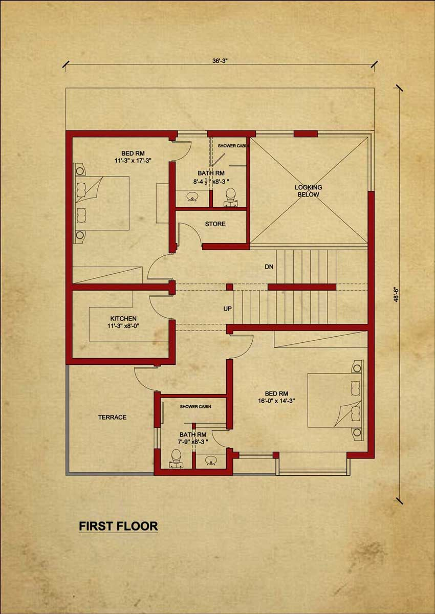 First Floor In 2020 House Flooring House Plans One Story House Layout Plans