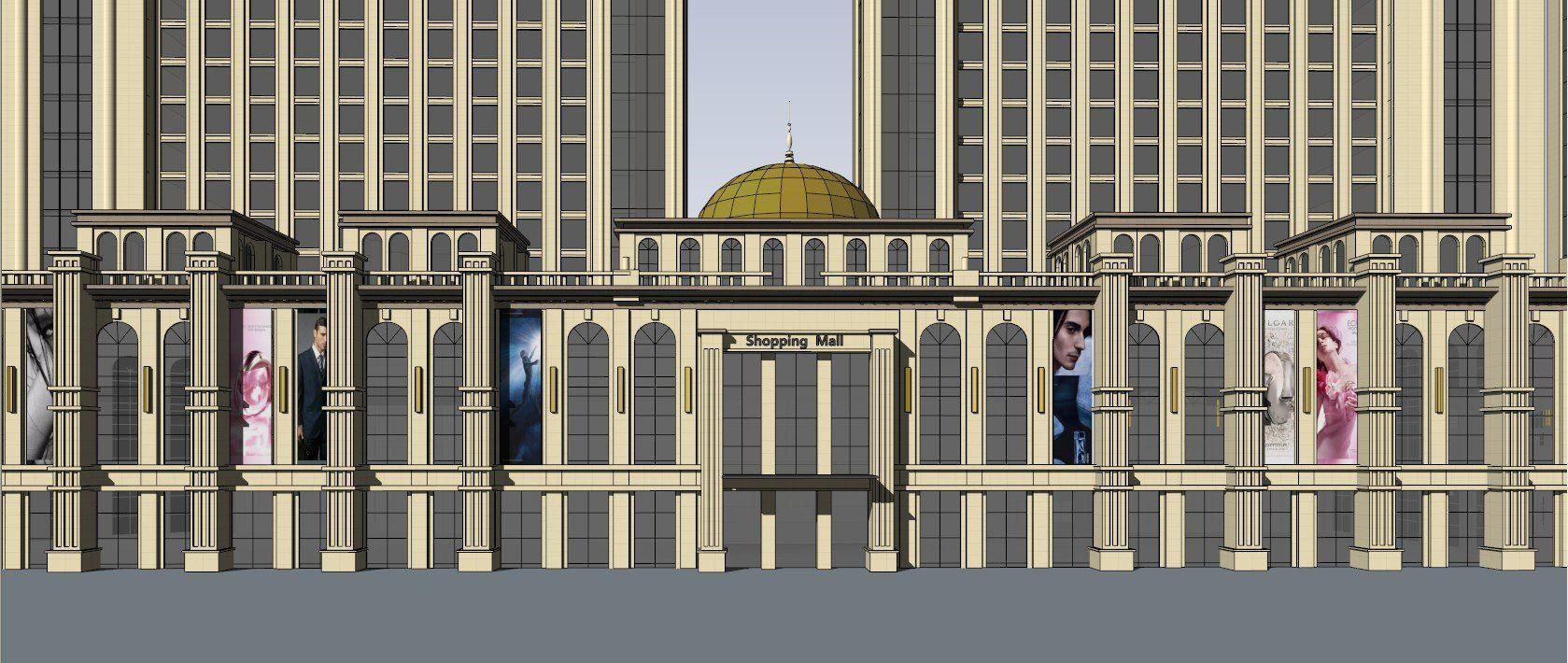☆Sketchup 3D Models-Business Building Sketchup Models 13