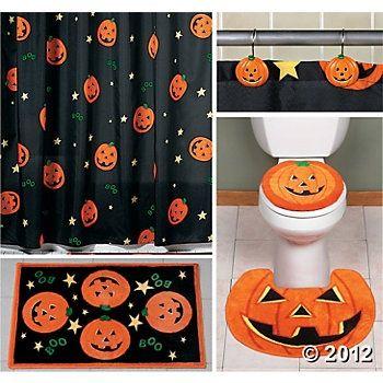 halloween decoracion en jardines - Buscar con Google decoracion - halloween bathroom sets