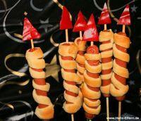 Silvester-Raketen: Geniales Rezept für Kinder #newyearsevefood