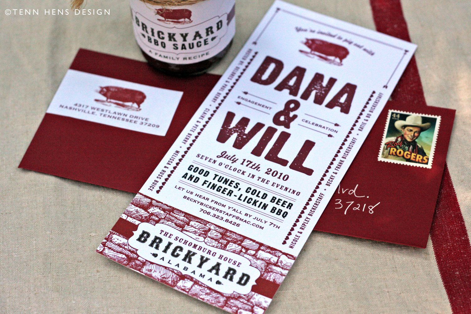bbq party invitation | Invitation Inspiration | Pinterest | Party ...