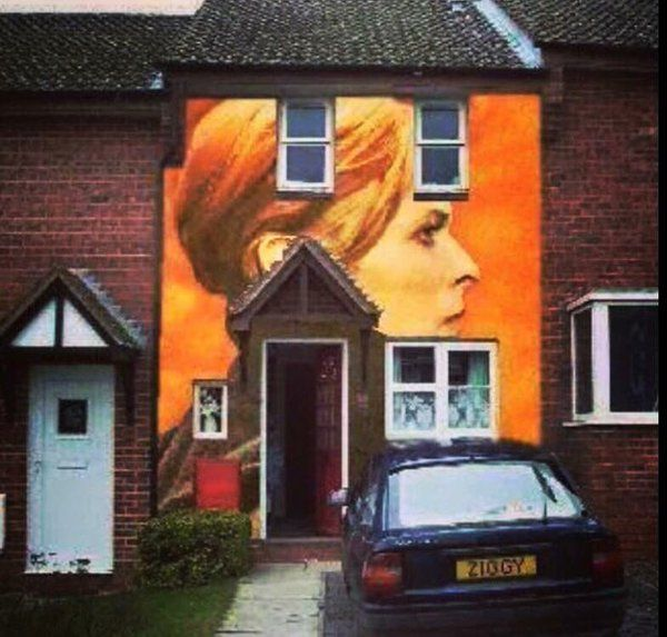 Someone's thought for the day - Paint your  house as the David Bowie Low album. The neighbours won't mind. #lowalbum