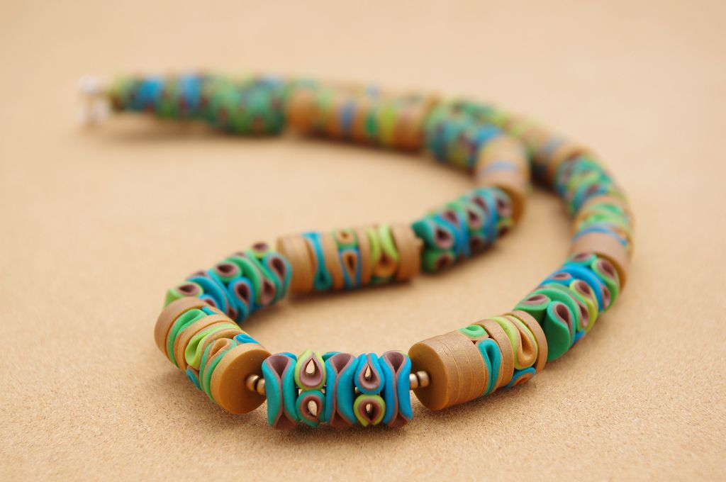 Polymer Clay Necklace | by Carina's Photos and Polymer Clay