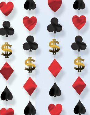 Ideas Para La Decoración De Una Fiesta Casino Decoración