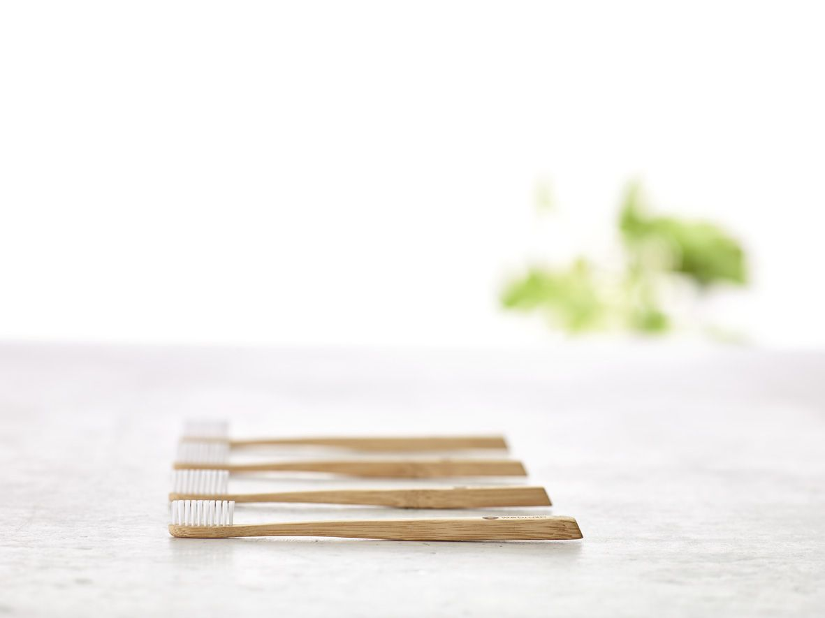 Bamboo toothbrush, bathroom inspiration, think about earth. Danish design - www.webrush.dk. Go to sleep with a pure mind -  webrush is earth friendly.