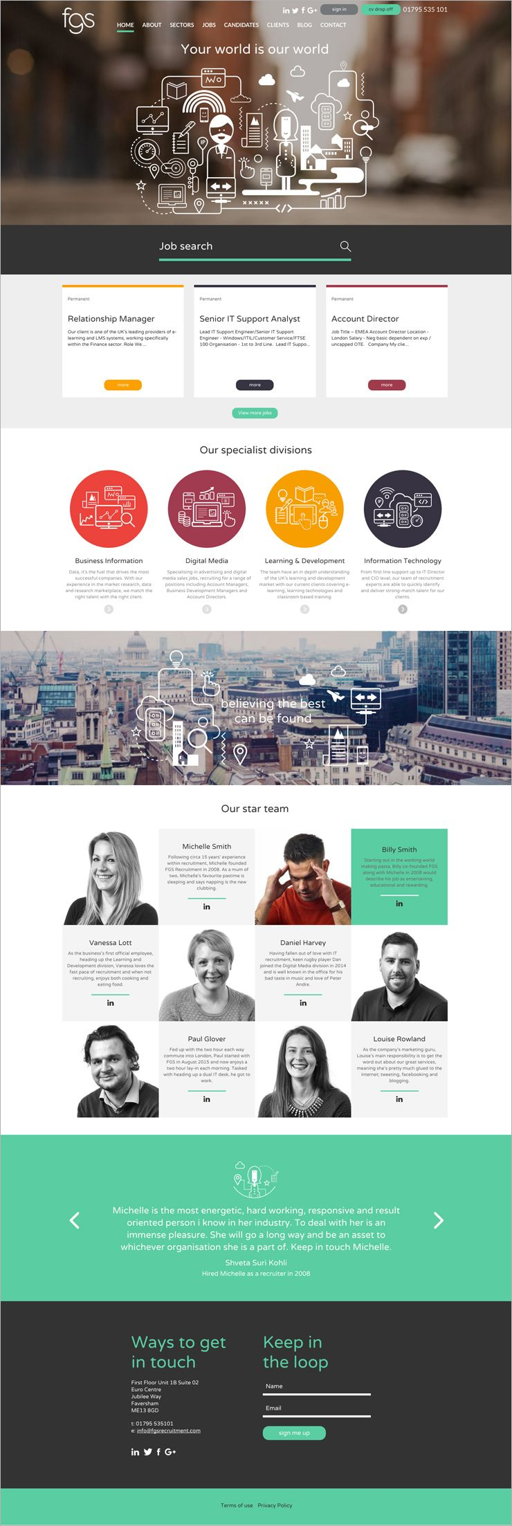 About us page design pinterest website website designs and about us page pronofoot35fo Images