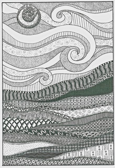 Pigma Micron® 01 pen found in the official Zentangle® Kit