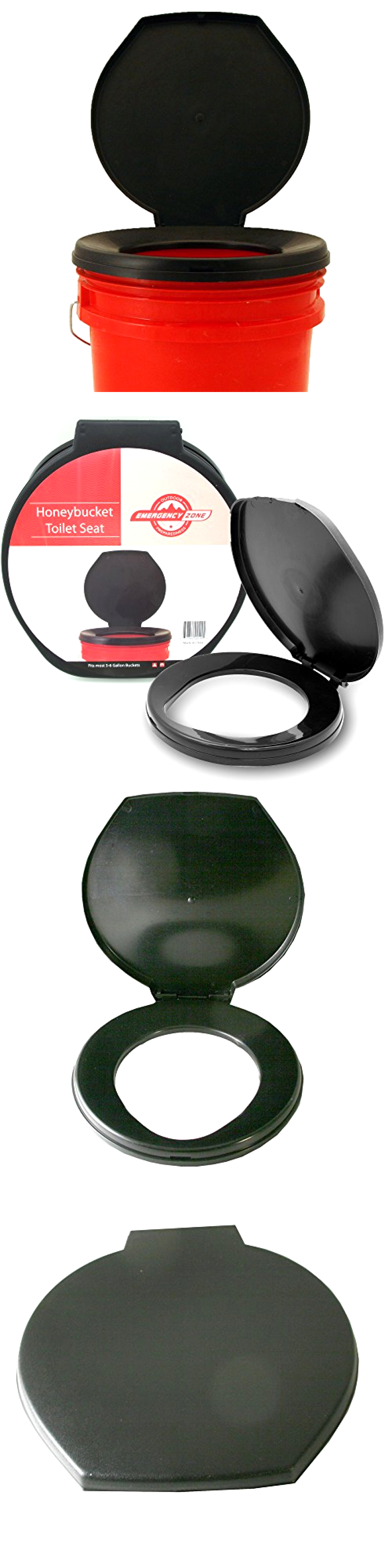 Portable Toilets And Accessories 181397: Portable Toilet Seat Cover Camping  Travel Bathroom Outdoor Hygiene Sanitation