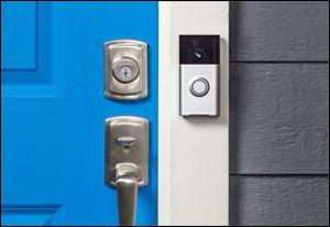 Q A How Do I Recharge The Battery In My Ring Wifi Video Doorbell Doorbell Smart Door Locks Front Door Camera