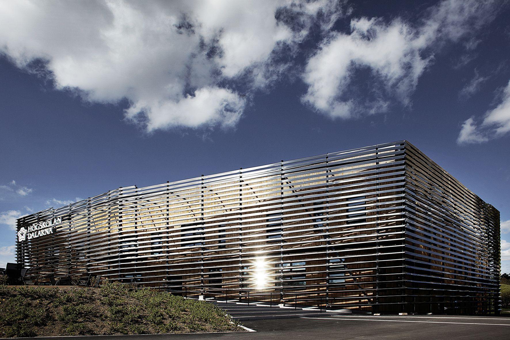 2014年世界建築大獎:得獎名單 瑞典:達拉娜大學多媒體圖書館