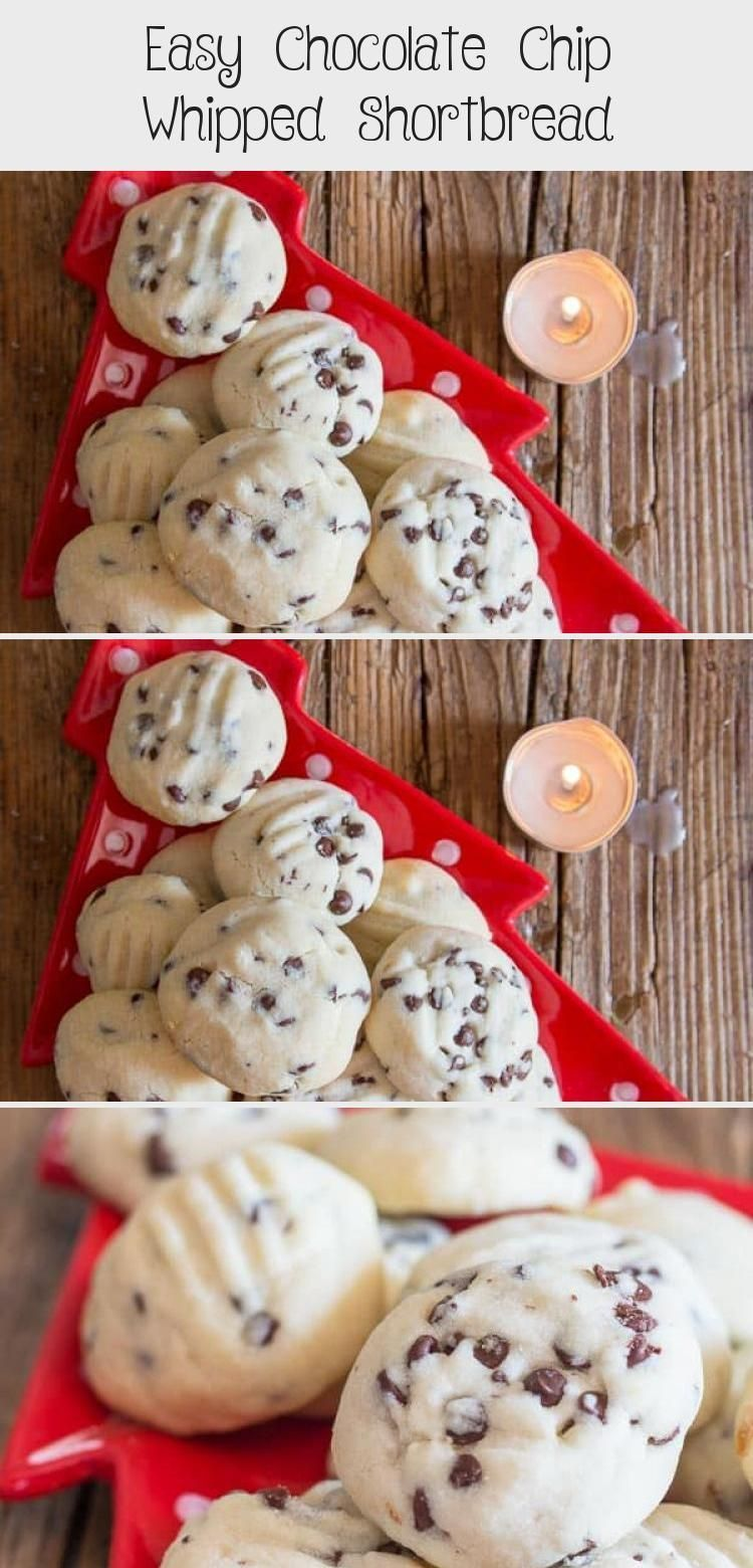 Easy Chocolate Chip Whipped Shortbread - Recipe of The Days #whippedshortbreadco... #best Holiday Cookies #Chip #Chocolate #classic Holiday Cookies #creative Holiday Cookies #cute Holiday Cookies #Days #Easy #fancy Holiday Cookies #festive Holiday Cookies #fun Holiday Cookies #german Holiday Cookies #Holiday Cookies bars #Holiday Cookies box #Holiday Cookies cake mix #Holiday Cookies chocolate #Holiday Cookies christmas #Holiday Cookies decorated #Holiday Cookies decoration #Holiday Cookies easy
