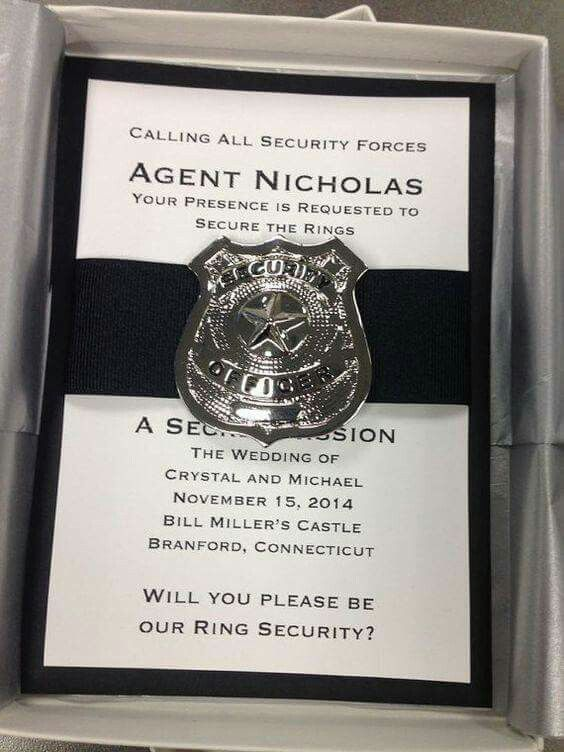 Ring Security Wording