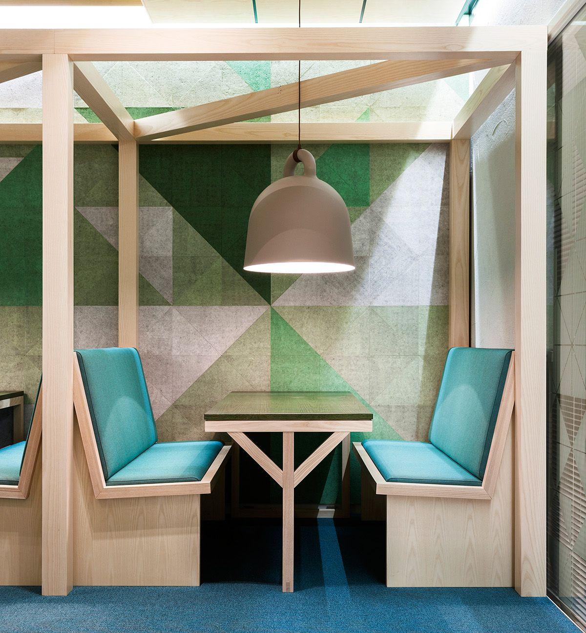 Cafe Banquette Seating: Canteen By Aleksi Hautamäki, BOND Creative Agency
