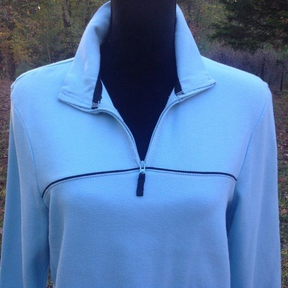Pullover Jacket, Fashion Long Sleeves Top by Danskin Size 12/14 #Danskin #ZipUpTop #Casual
