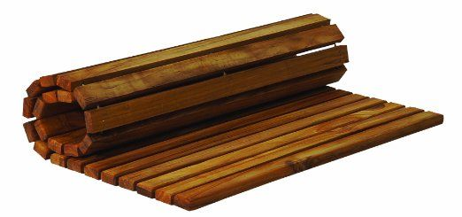 Teak Mat For Portable Shower Floor 20x20 Teak Shower Mat Teak