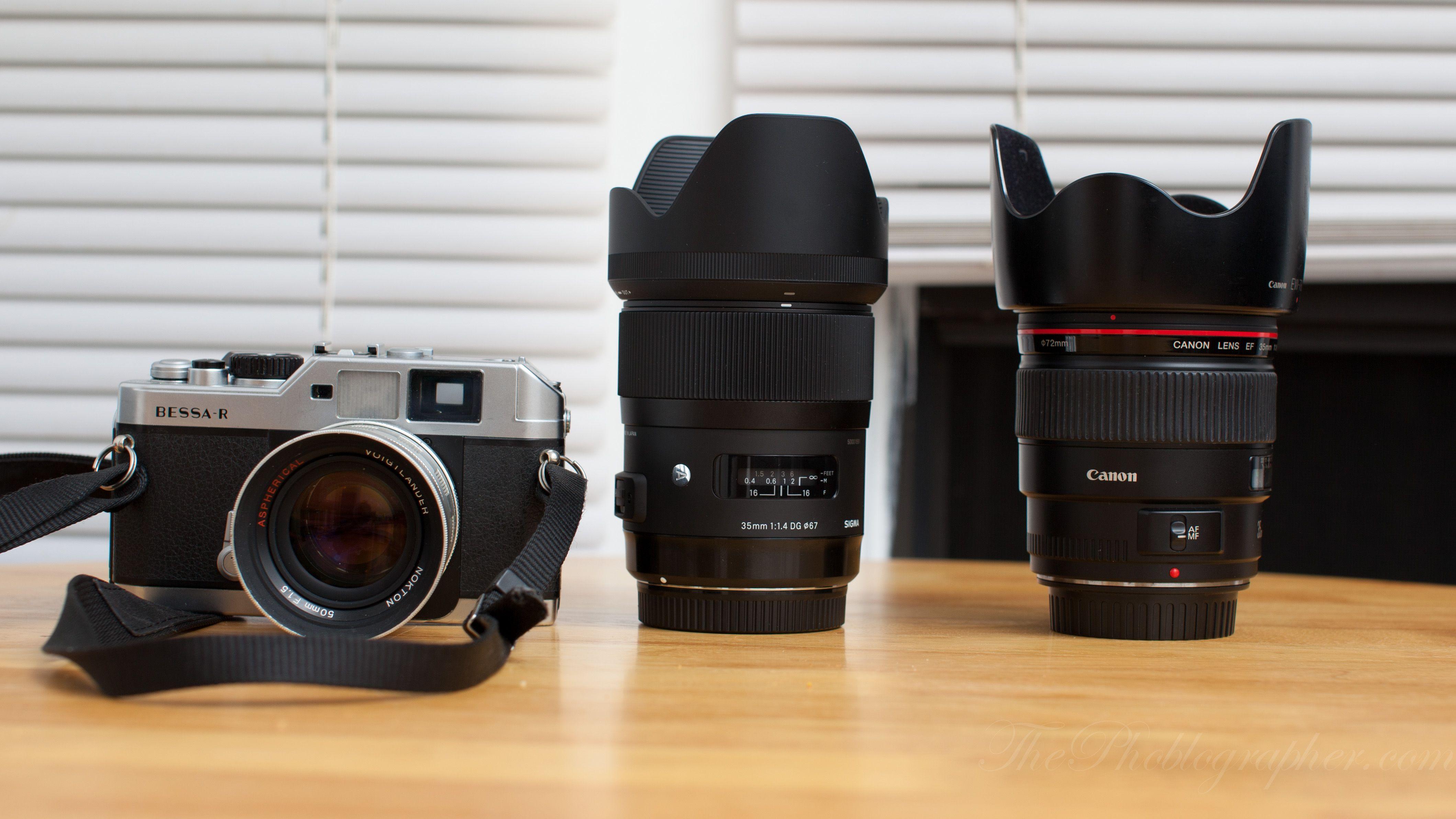 Quick Informal Lens Comparison Canon 35mm F1 4 L Vs Sigma 35mm F1 4 The Phoblographer Canon 35mm Sigma Canon