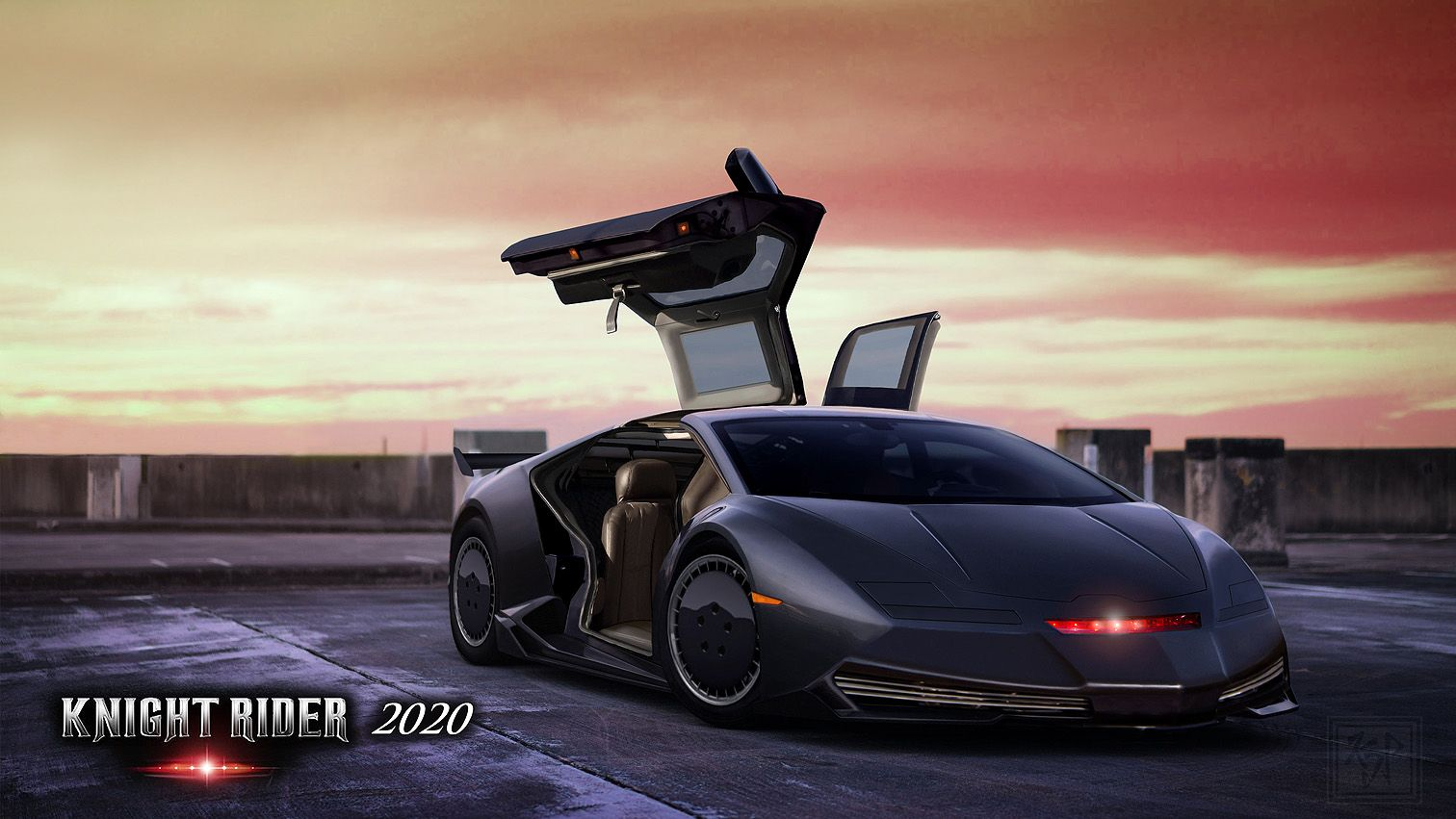 My Funwithphotoshopfriday Photo My Design For A Modern Version New Version Of K I T T From Knightrider Using A Lamborghini Body As Knight Rider Rider Photo