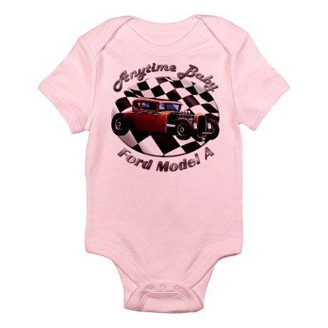 Ford Model A Hotrod Infant Bodysuit