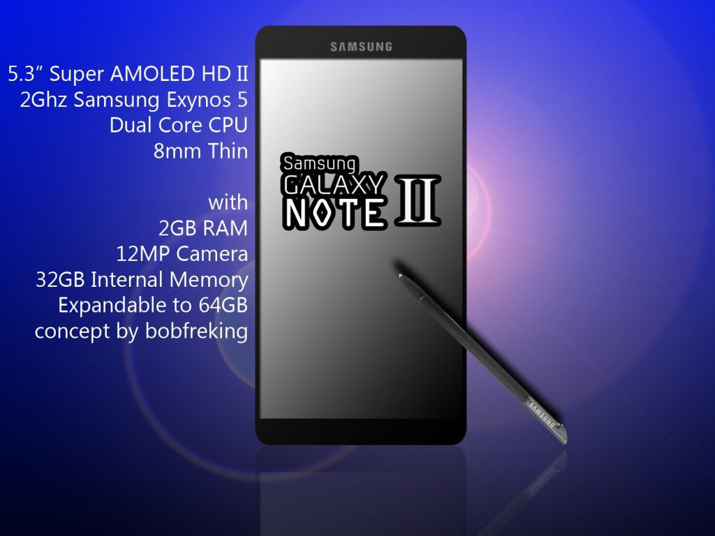 Samsung Galaxy Note 2 – Here's How It Could Look + Specs