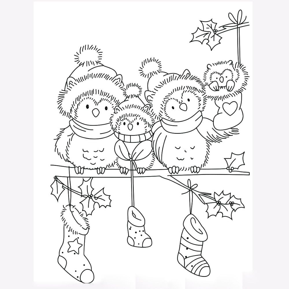 9x6.5(2) | Christmas coloring pages, Christmas drawing ...