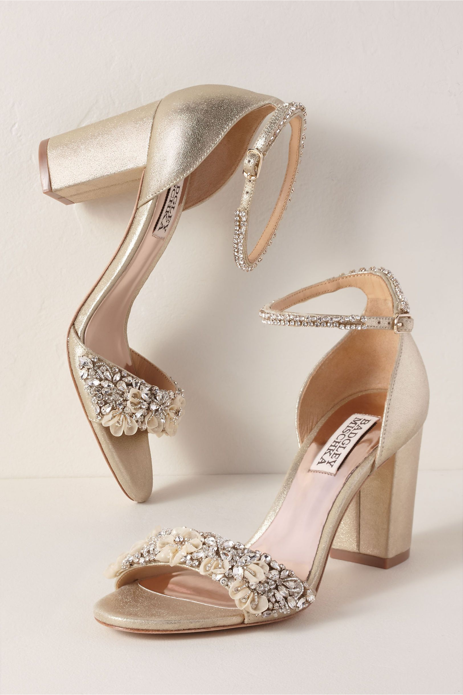 ba02d697849 BHLDN s Badgley Mischka Badgley Mischka Finesse Ii Heels in Neutral
