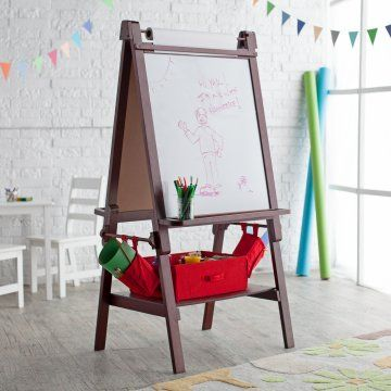 Classic Playtime Deluxe Easel   Espresso | child | Pinterest