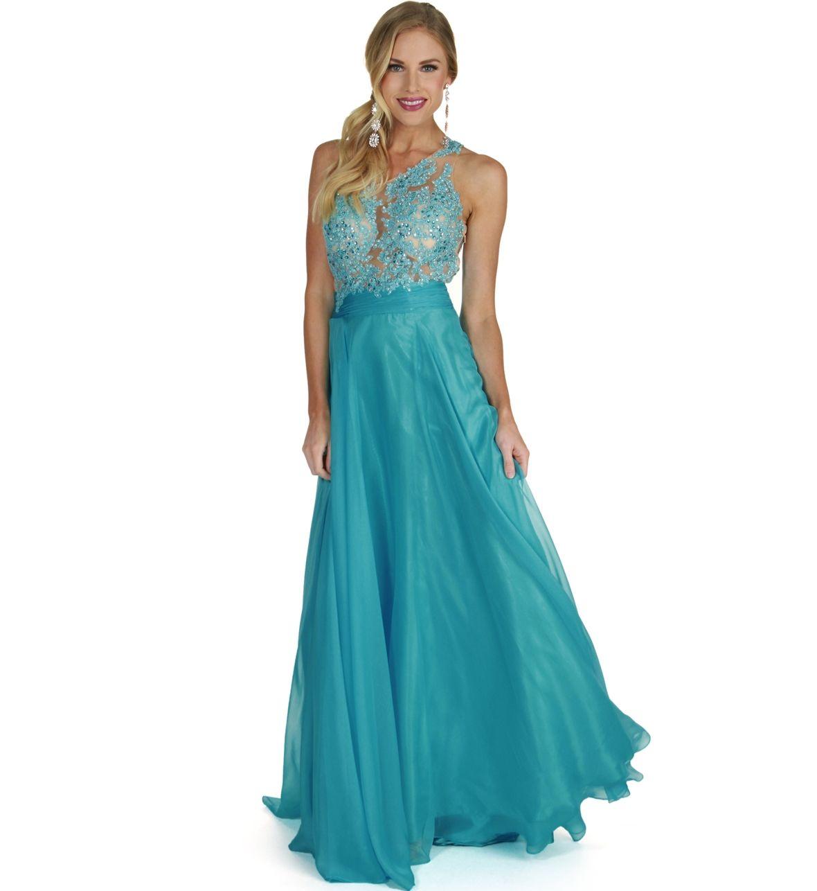 Viviana lt blue prom dress prom pinterest prom