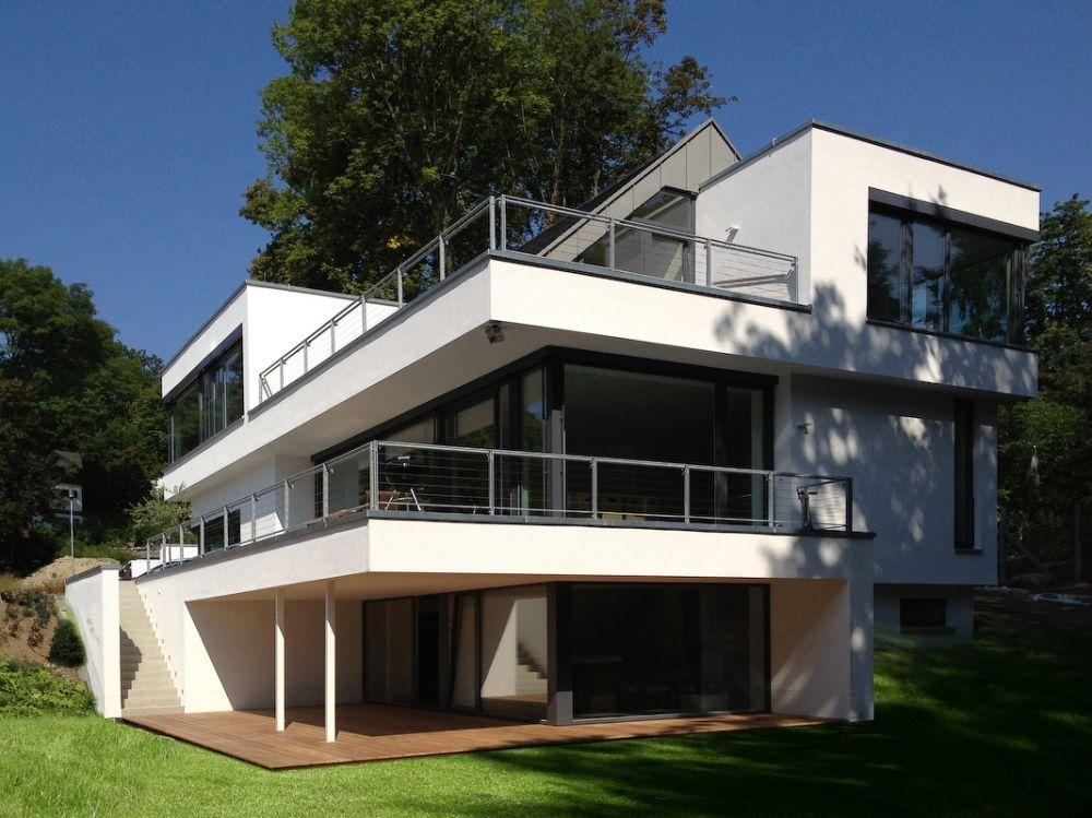 Moderne Satteldachhäuser modernes satteldachhaus im taunus bauen