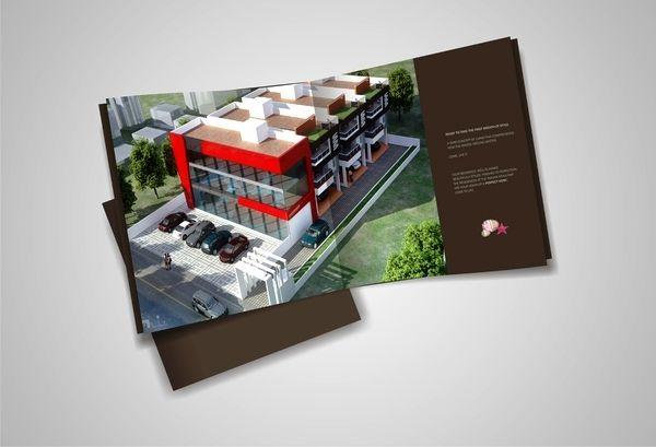 30 Desain Brosur Real Estate Inspiratif Brochure Brochure Design