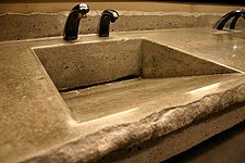 DIY Concrete Sink Mold | Custom Concrete Countertop Molds for ...