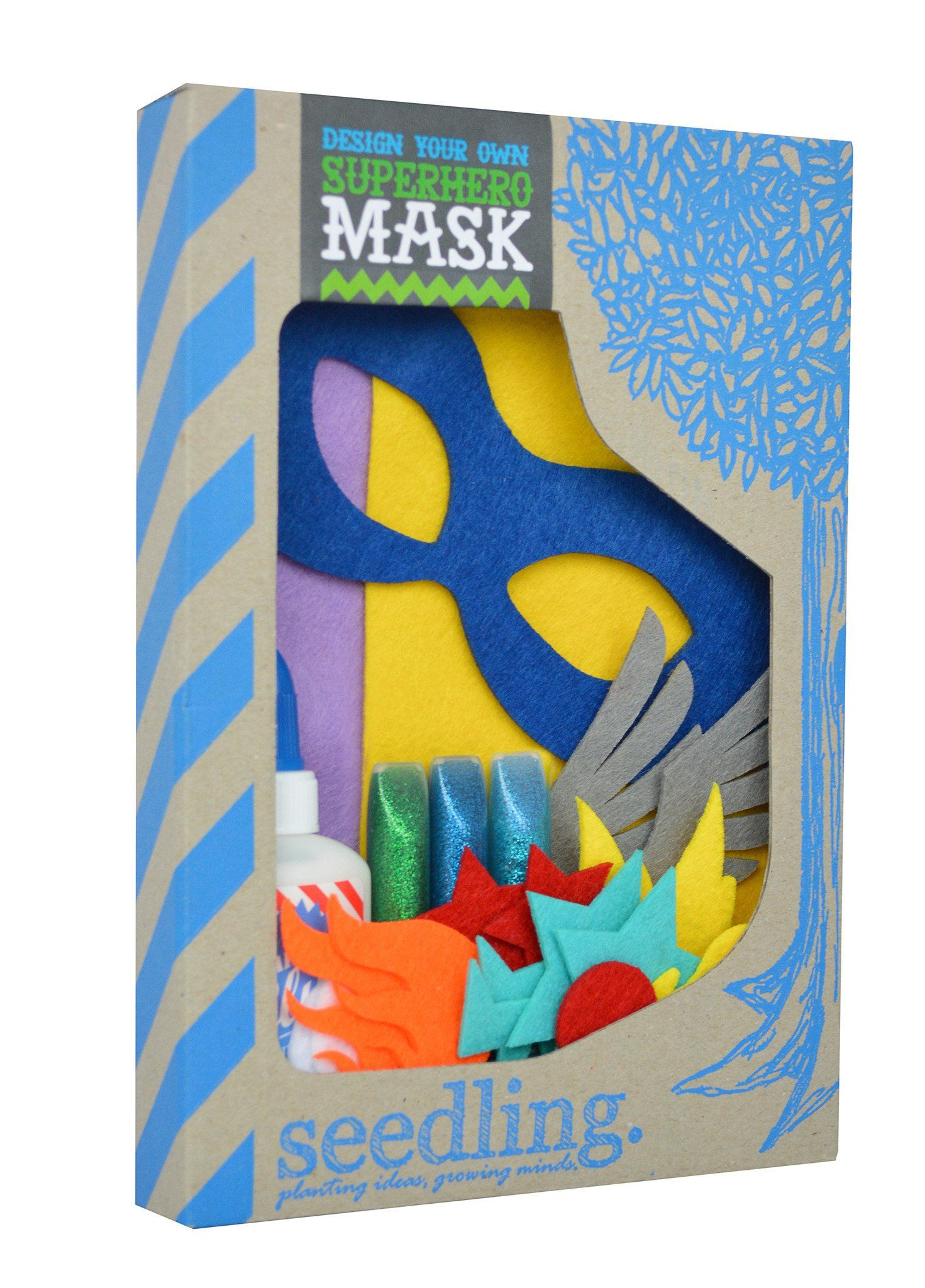 Design Your Own Superhero Mask
