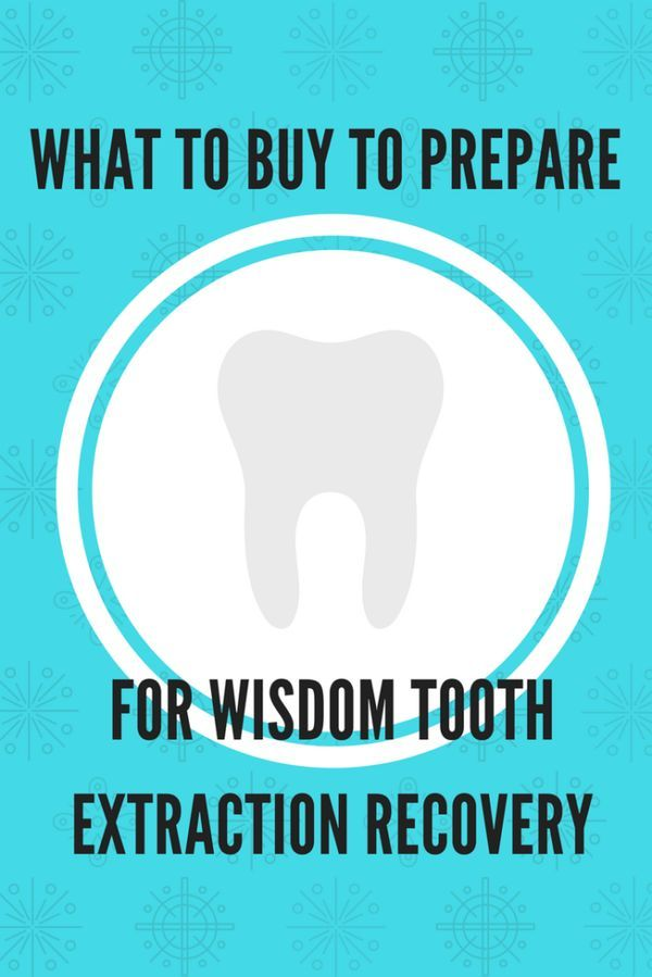 What to buy to prepare for wisdom tooth extraction recovery - The Domestic Geek Blog