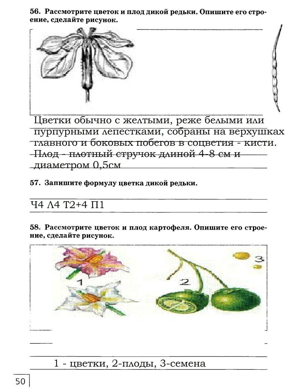Решебник природоведение красильникова 5 класс