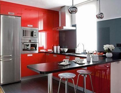 Como aproveitar o espaço em uma cozinha pequena Cocinas, Barras de