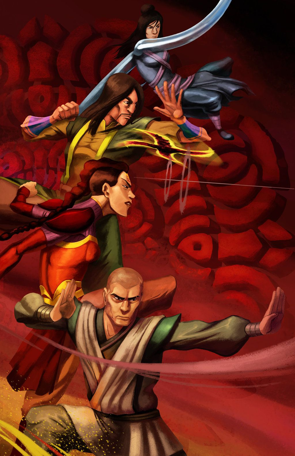The Red Lotus Avatar Legend Of Aang Avatar The Last Airbender Funny Avatar Airbender