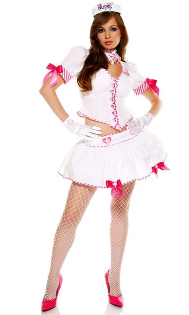 fdbd35cd37f2c Nurse Eye Candy - Sexy Nurse Costume   cute dress up   Sexy nurse ...