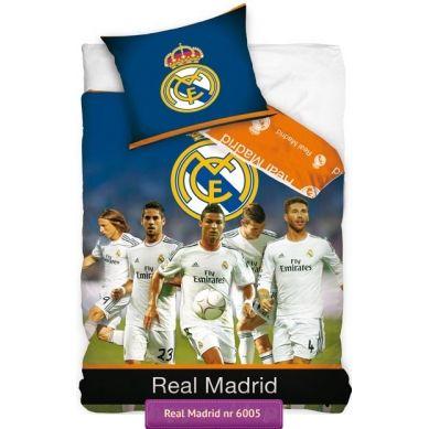Cristiano Ronaldo Wit Real Madrid Kids Bedding Set Pościel Real Ma