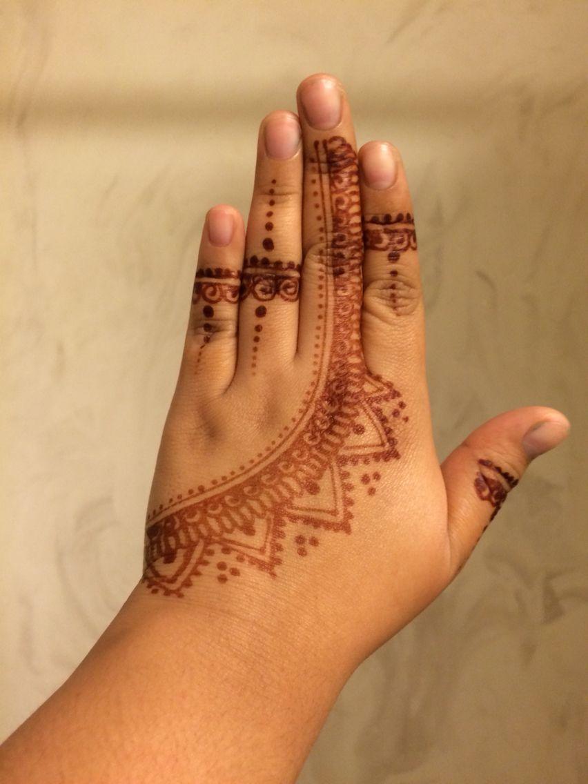 Henna hand design henna tattoos pinterest henna hand designs