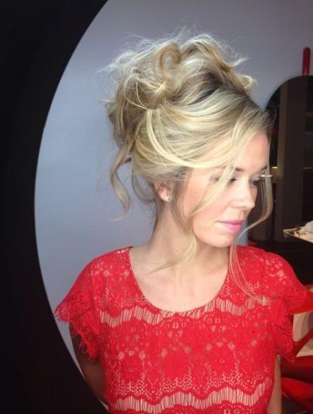 50+ best ideas wedding hairstyles blonde updo chignons | Blonde updo, Wedding hairstyles ...