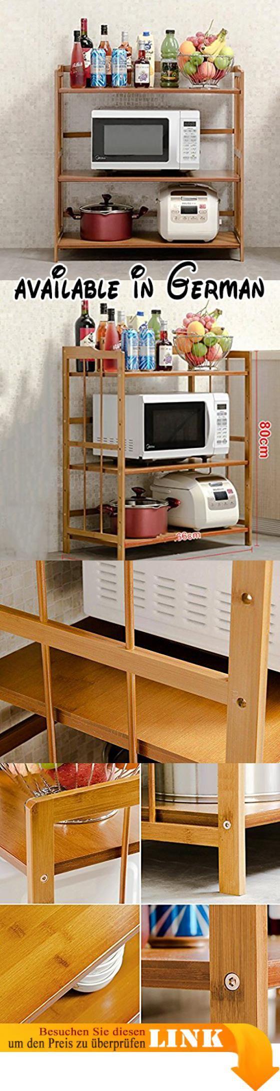 B078V5DN1L : Großer Raum feste Lager Küche Regalboden Mikrowelle ...