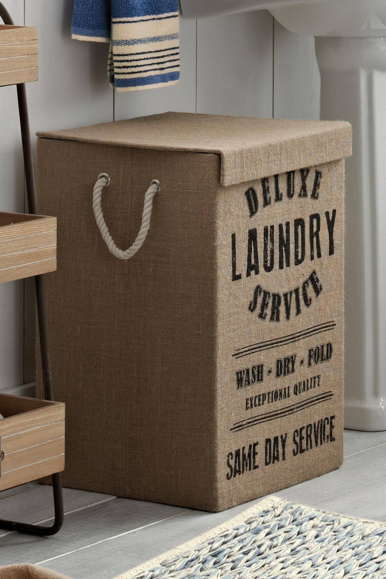 Cute Laundry Hamper Jute Laundry Hamper Next Cute Laundry Decoración De Unas