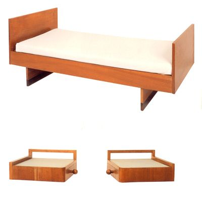 Josef Albers  Bed. Simple  modern furniture   Josef albers  Bauhaus and Modern