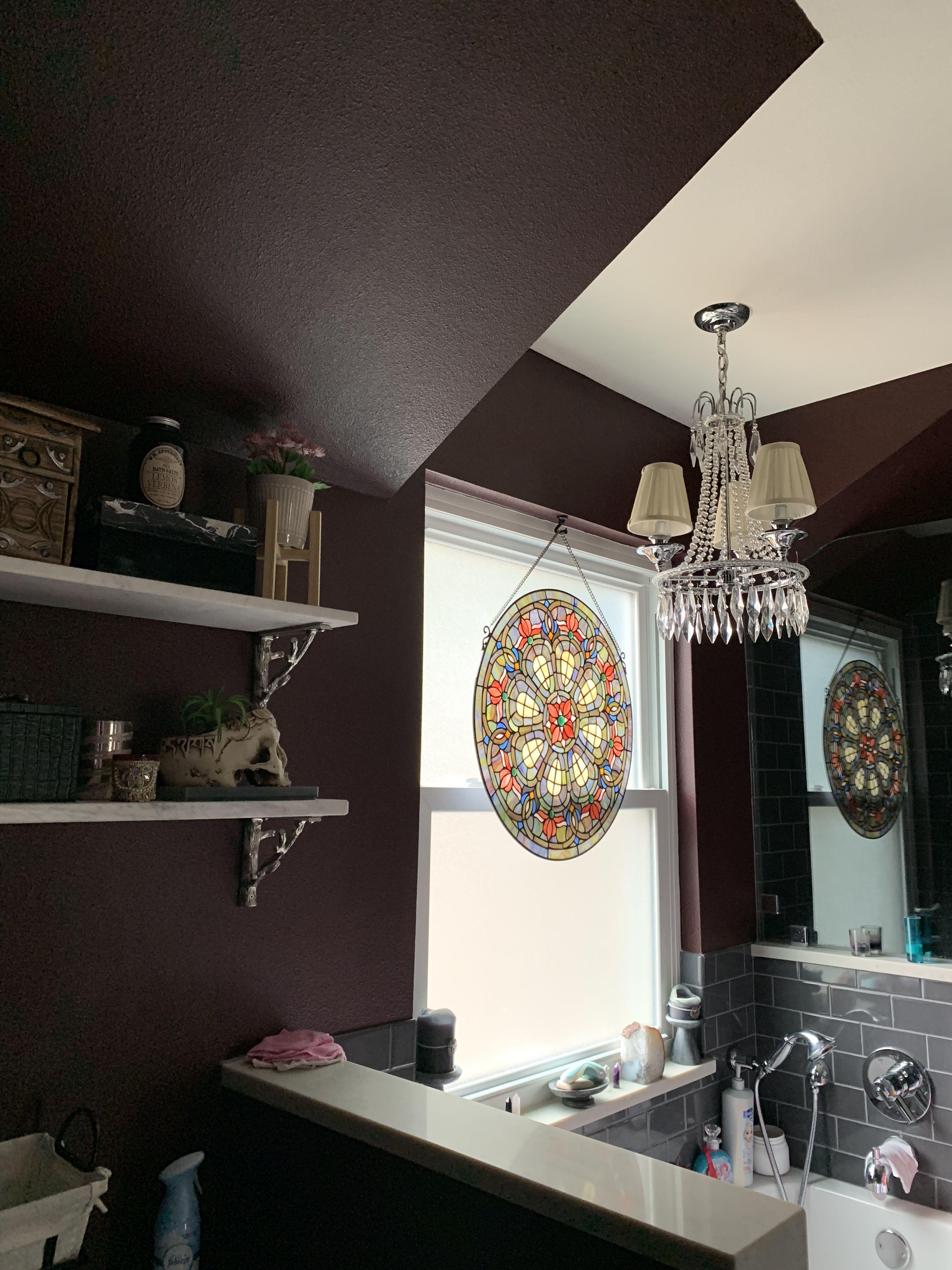 my gothic bathroom | gothic bathroom, home decor, decor