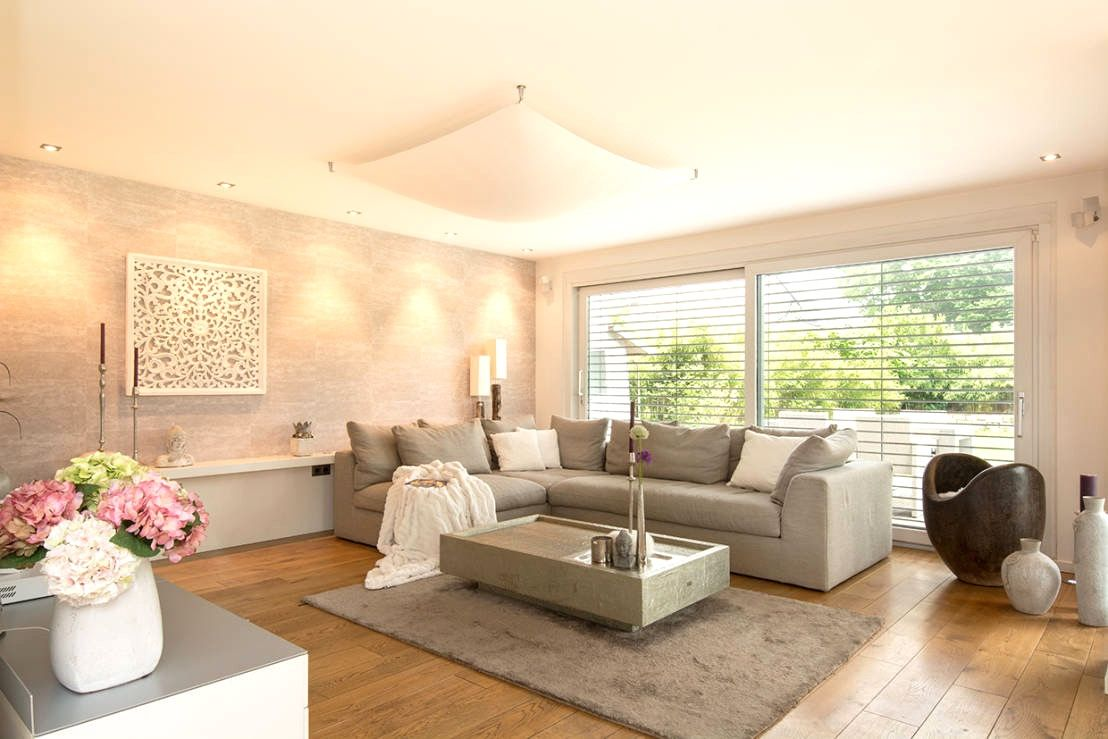 Schon Wohnzimmer Einrichten Farben