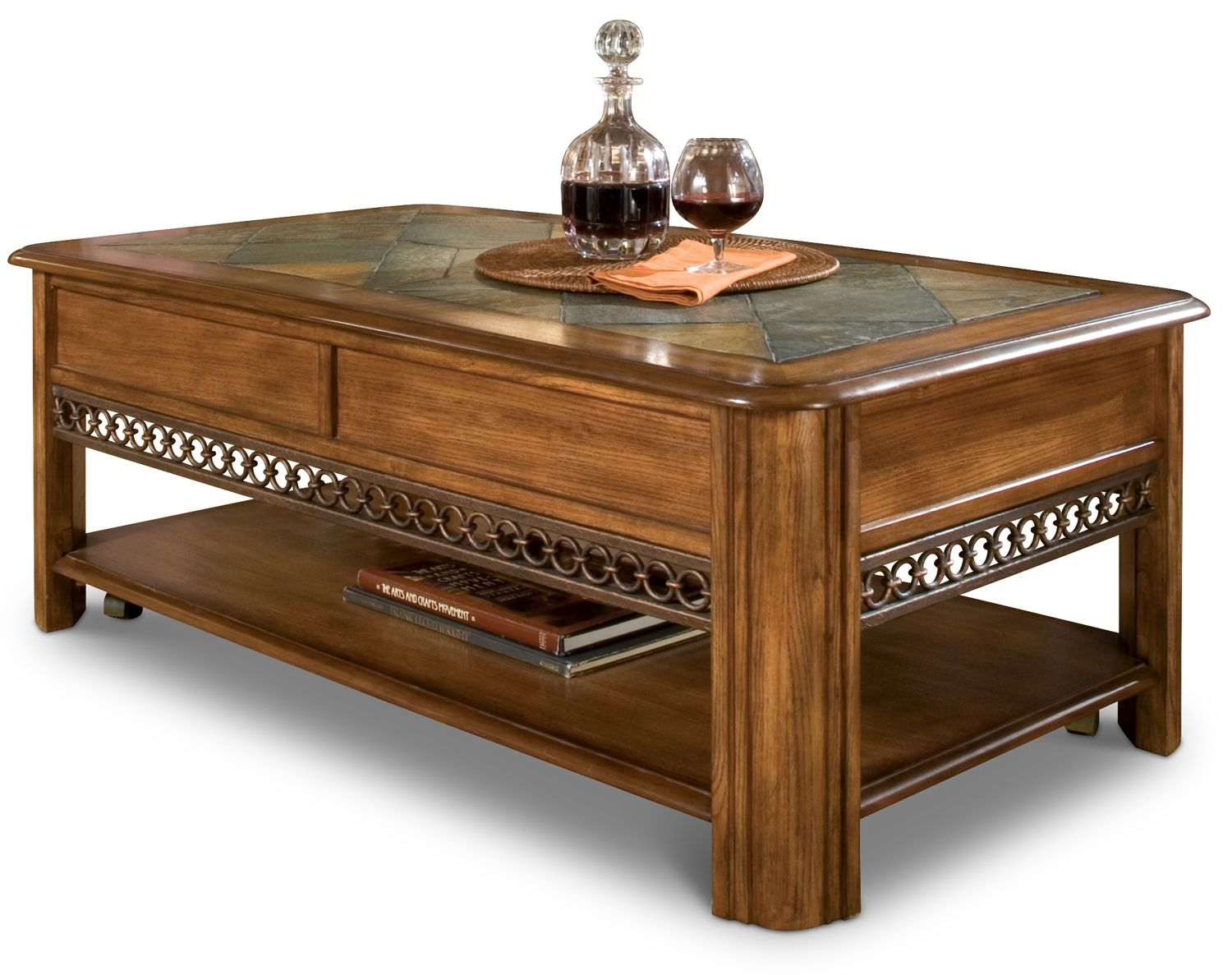 Madison Lift Top Coffee Table Leon S