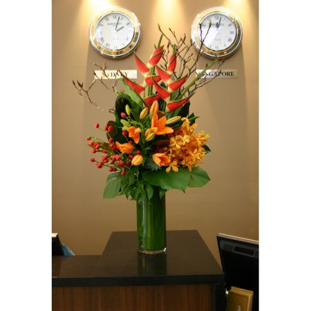 Etonnant Medium Flower Arrangement Reception Area   Google Search