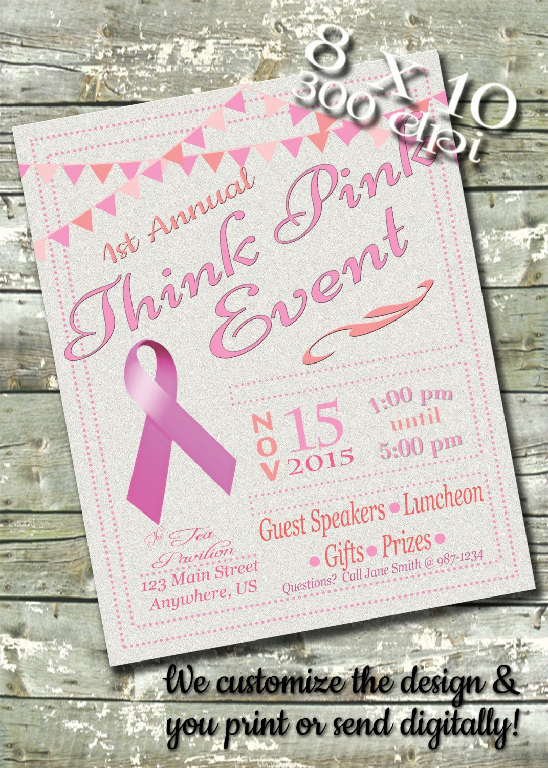 Items similar to Breast Cancer Fundraiser